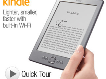 Annetaan lainaan: Brand new Kindle, best reader for only 99euro!