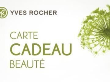 Vente: Carte Yves Rocher - 75€