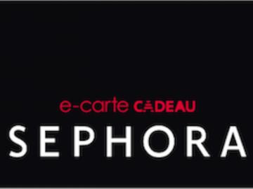 Vente: Carte Sephora - 40€