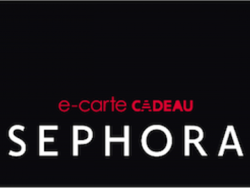 Vente: Carte Sephora - 70€