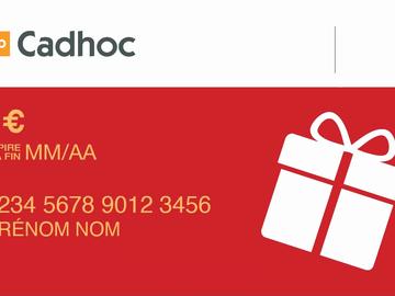 Vente: Carte Cadhoc - 50€