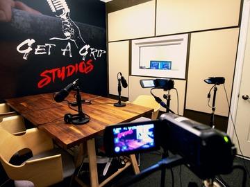 Rent Podcast Studio: Get A Grip Studios