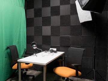 Rent Podcast Studio: Local Office