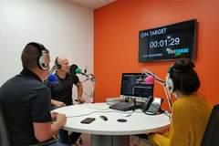 Rent Podcast Studio: On Target