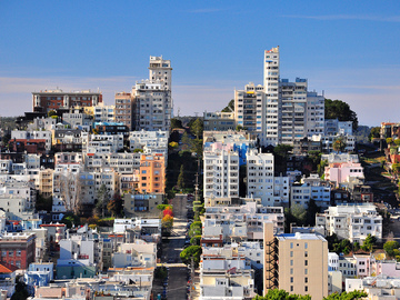 Monthly Rentals (Owner approval required): San Francisco CA, Russian Hill Parking Space. Great Location!