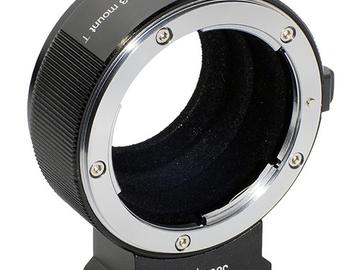 Vermieten: Metabones Adapter MFT-Nikon F