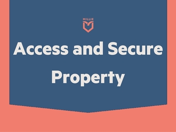 Task: Access and Secure Property