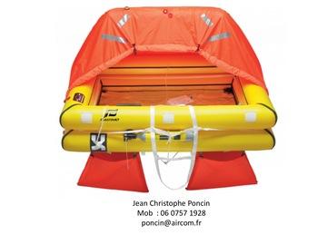 Location: Radeau hauturier Plastimo 4 places en sac neuf