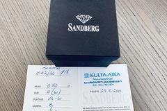 Ilmoitus: Suomalainen Sandberg-timanttisormus