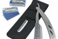 Buy Now: Lot of 14,Professional Straight Edge Razor, Durable Stainless Ste