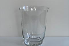 Ilmoitus: Maljakko/lyhty, kirkas lasi (11 kpl)