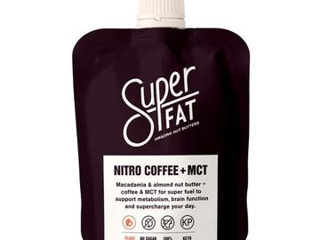 Online Listing: SuperFat Squeezable Nut Butters (Nitro Coffee + MCT)