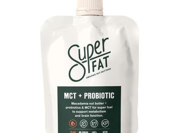 Online Listing: SuperFat Squeezable Nut Butters (MCT + Probiotic Nut Butter)