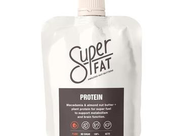 Online Listing: SuperFat Squeezable Nut Butters (High Protein Nut Bar)