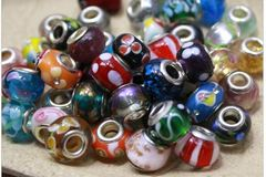 Buy Now:   Assorted Big Hole Spacer Beads Loose Beads x500