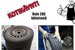 Offering: Tire change service at your place