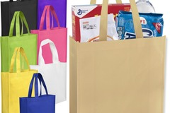 Buy Now: 100 Tote Bags - Assorted Colors Size 10x9 - Free Shipping