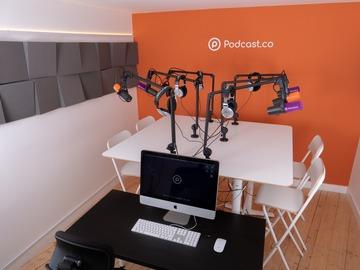 Rent Podcast Studio: Podcast.co Studio - Manchester
