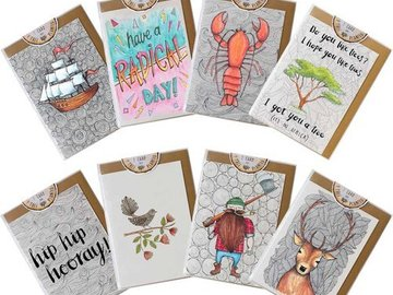 Liquidation Lot: over 800 mixed greeting cards MSRP over $1750