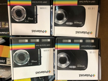 Buy Now: 100 Wholesale Lot of Branded Cameras