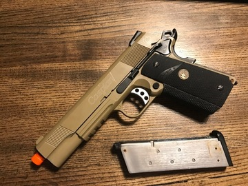 Selling: WE 1911 Caspian GBB, Full Metal