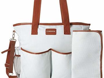 Liquidation Lot: 10 x Premium 2in1 Diaper bag w/ Functional Tote - MSRP $899.90