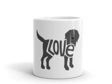 Selling: LoVe Mug - Black Lab Edition