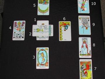 Selling: 10 card reading