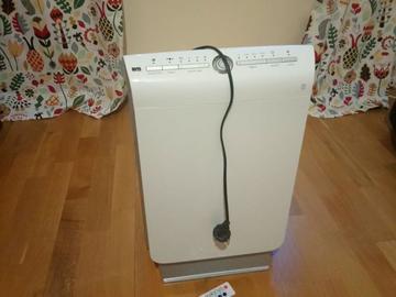 Myydään: Air purifier with ionizer