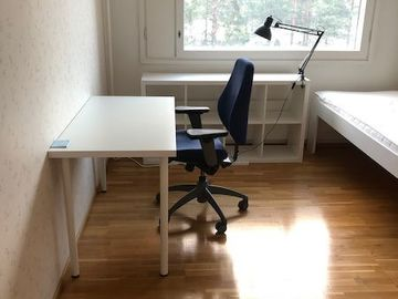Annetaan vuokralle: Furnished room in Espoo, bills covered, June 1 onward