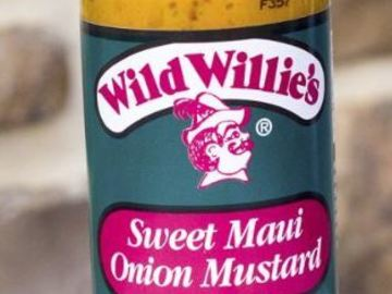 Online Listing: Wild Willie's Sweet Maui Onion Mustard
