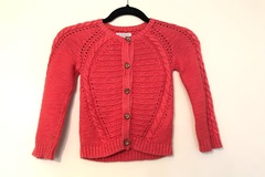 Selling with online payment: Indigo Cardigan, age 4-5 Yrs