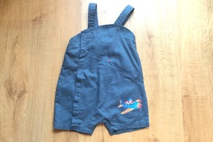 Selling with online payment: Dungaree shorts, age 24 Mths