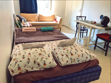 Renting out: Semi Furnished Room in Vallila in a shared flat (June only)