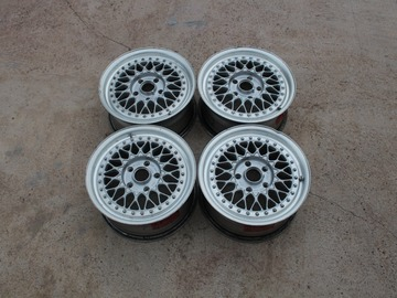 Selling: Original FORGED BBS RS FACES 15 inch RS156 FLATBACK