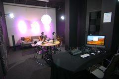 Rent Podcast Studio: Podcast Lounge