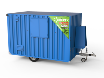 Weekly Equipment Rental: 12' Eco Towable Welfare Units (7 Man)