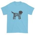 Selling: LoVe T-Shirt  Black Labrador