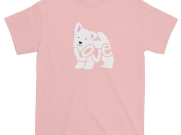 Selling: West Highland White Terrier - LoVe T-Shirt - DOG-GONE DEAL