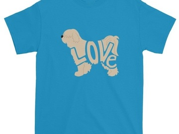 Selling: LoVe T-shirt - Tibetan Terrier Edition - Brindle Color Design