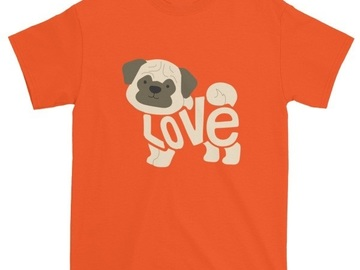 Selling: LoVe Shirt - PUG edition