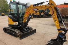 Hourly Equipment Rental: Brand New 3 Tonne Excavator Operated