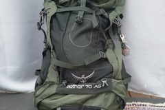 Vuokrataan (yö): Osprey Aether AG 70