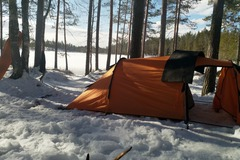 Vuokrataan (yö): Haltin teltta 3henkilöä