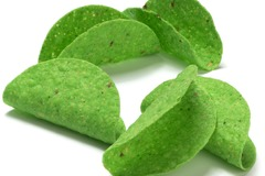 Online Listing: Green Mini Taco Shells - 2 - 100ct Cases