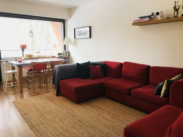 Renting out: 2 bedroom flat for rent - beginning of July to end of September