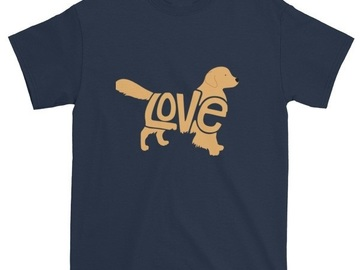 Selling: LoVe T-Shirt - Golden Retriever