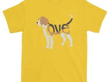 Selling: LoVe T-Shirt   - Beagle Edition