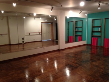 List a Space: Dance Yoga Pilates Room