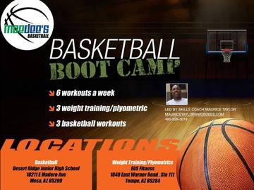 Selling with online payment: Basketball BootCamp